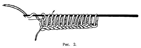 Вязание длинным крючком 2