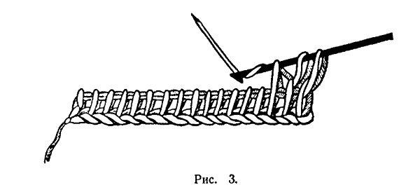 Вязание длинным крючком 3