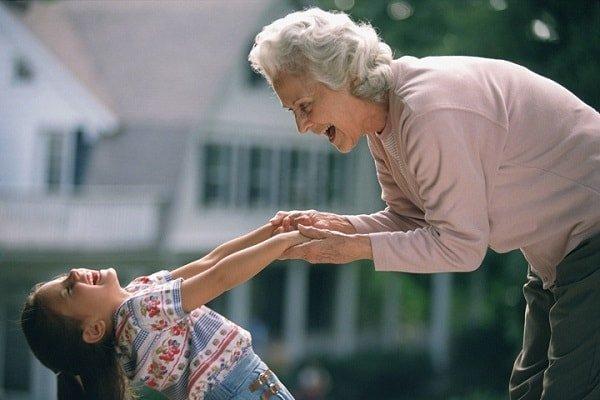 Бабушки в воспитании внуков
