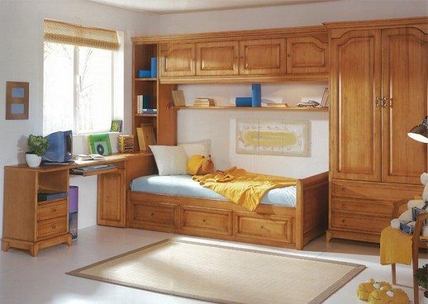 Деревянная мебель из массива для детской