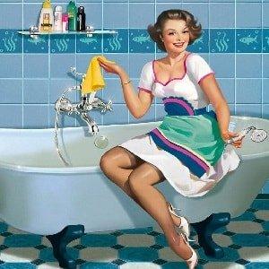 Генеральная уборка в ванной