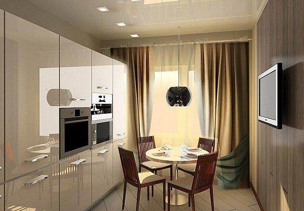 Как оформить очень маленькую кухню