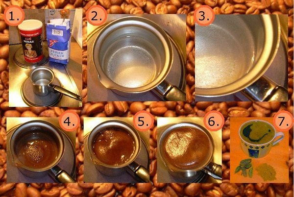 Как варить кофе в турке правильно