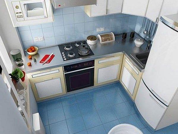 Кухни маленького размера – секреты оформления