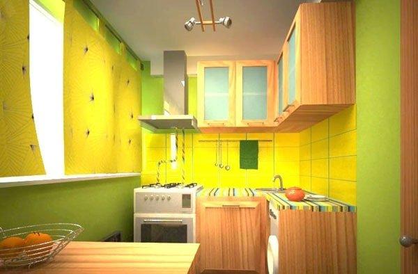 Уютная маленькая кухня – секреты оформления.