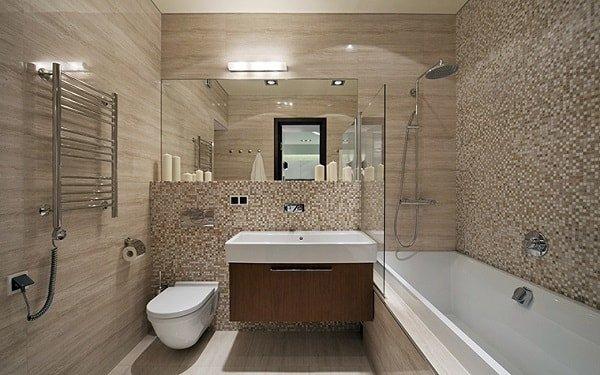 Большой умывальник в ванную комнату