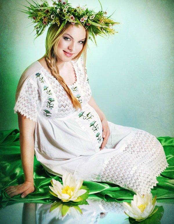 Беременность и красота беременной женщины