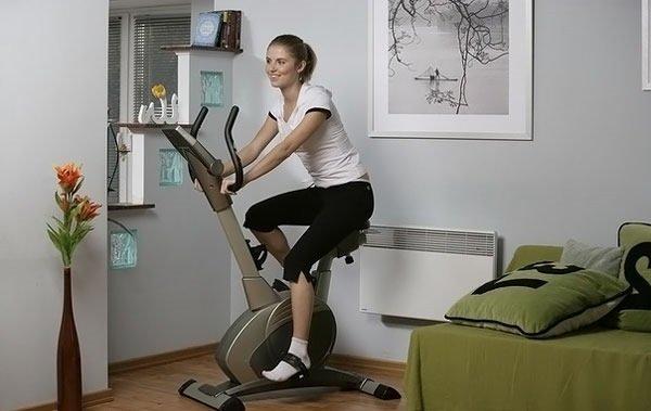 Велотренажер для здоровья.