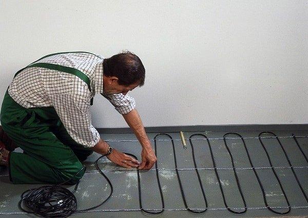 Инструкция по укладке нагревательного кабеля Теплый Пол
