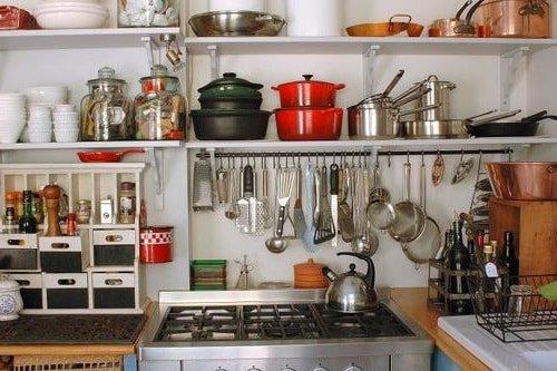 Как организовать пространство на маленькой кухне