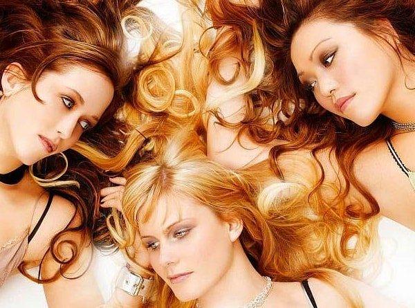 Как можно выпрямить волосы в домашних условиях - e42f5