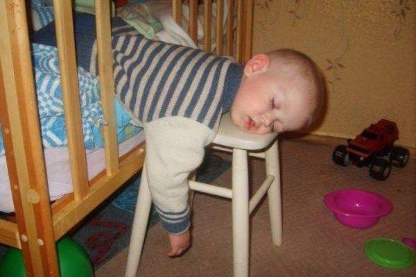 Крепкий сон, когда устал!