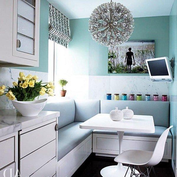 Кухонные диваны для маленькой кухни
