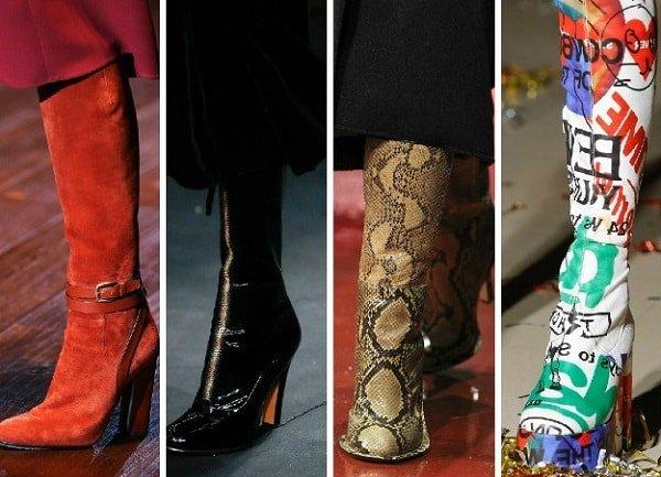 Мода осень-зима 2016-2017 и тенденции обуви