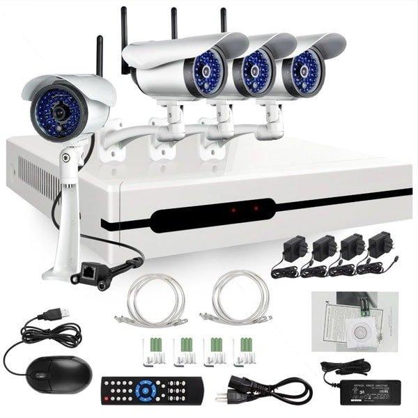 Наиболее распространенные камеры видеонаблюдения