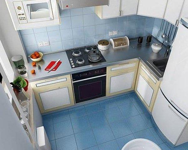 Очень маленькая кухня - идеи интерьера
