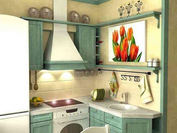 Оформляем маленькую кухню по правилам фото 2