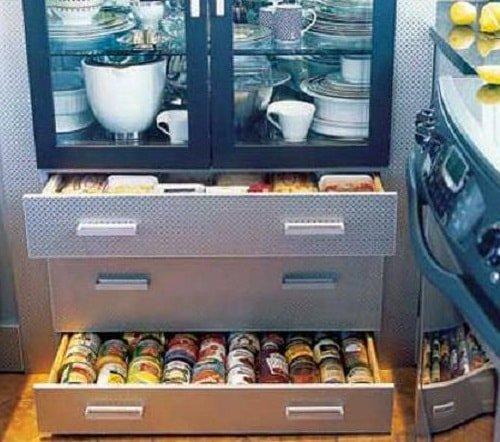 Организовать пространство на маленькой кухне