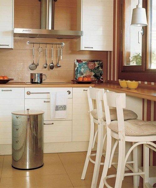 Пространство на маленькой кухне
