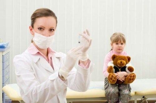 Противопоказания от прививок отсутствуют