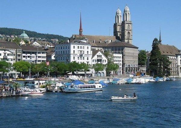 Путешествие в Швейцарию - Цюрих