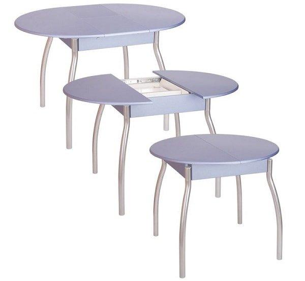 Раздвижные кухонные столы