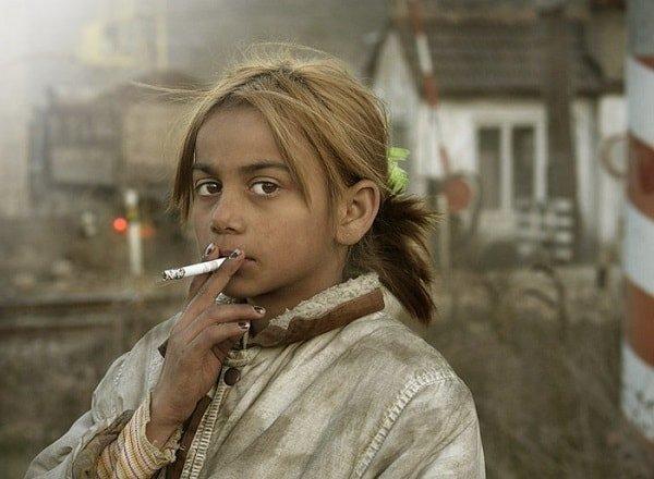 Ребенок курит – безобразие!