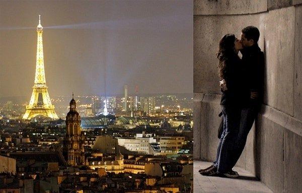 Самые романтические города - Париж