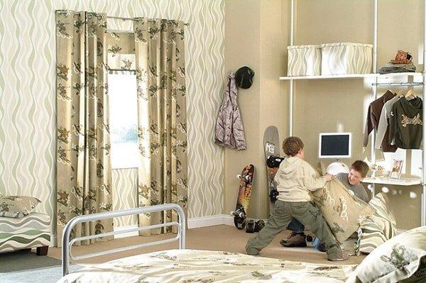 Шторы для комнаты подростка