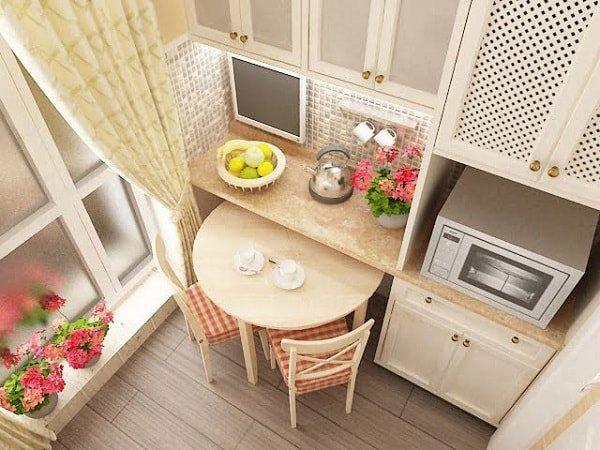 Секреты оформления маленькой кухни