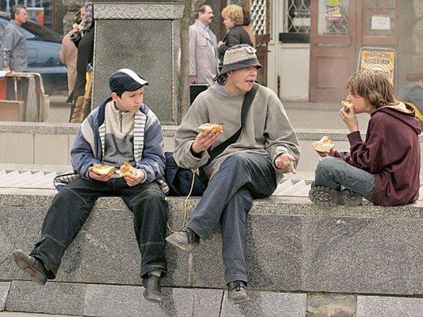 Улица и подросток