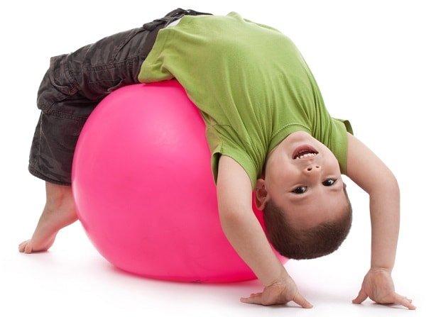 Здоровая спина ребенка