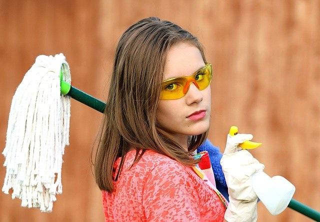 Уборка в доме без промышленной химии.