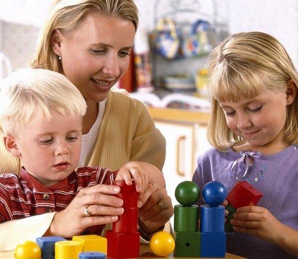 Развивающие игры для детей 5 лет.