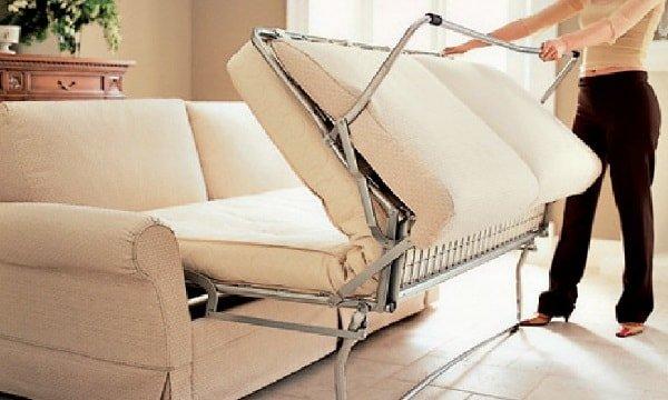 Как раскладываются диваны