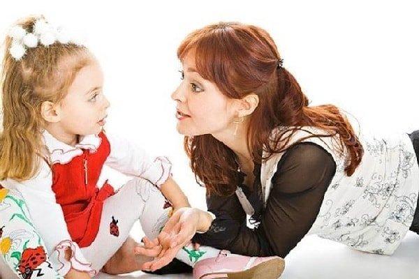 Правила общения с маленьким ребенком