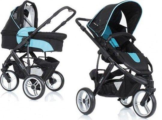 Прогулочные и трехколесные коляски для новорожденых