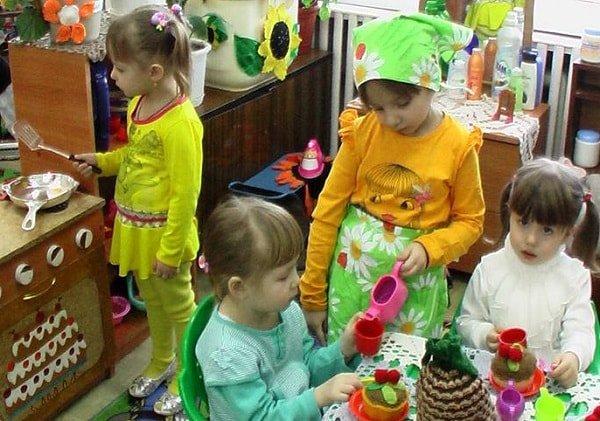 Социализация дошкольников