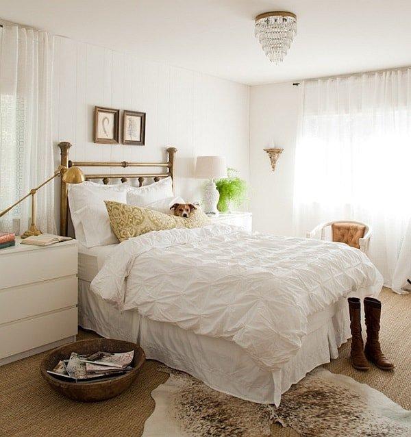 Белая спальня фото 3
