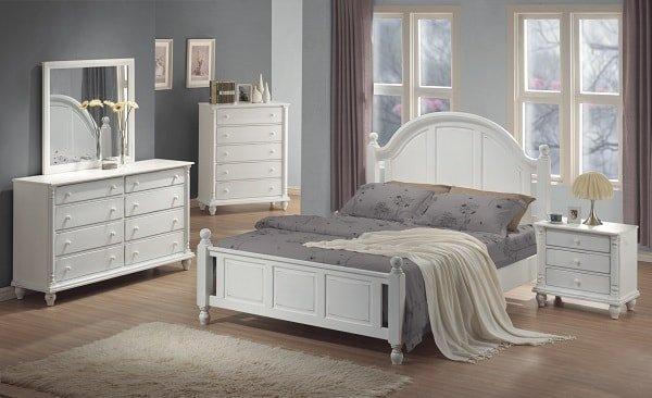 Белая спальня фото 4