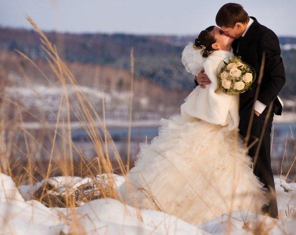 Создание образа невесты для зимней свадьбы.