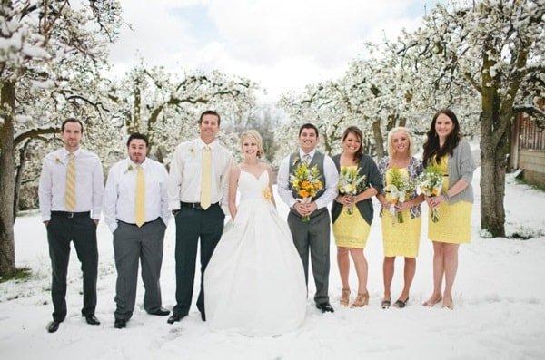 Как правильно провести свадьбу зимой на природе