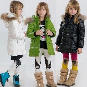 Как выбрать детский пуховик для девочки
