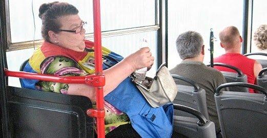Льготы на проезд в общественном транспорте