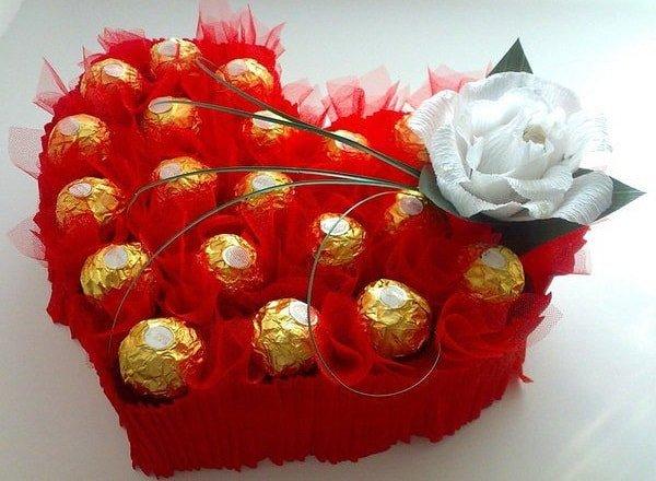 Подарки из конфет, как идея для домашнего бизнеса