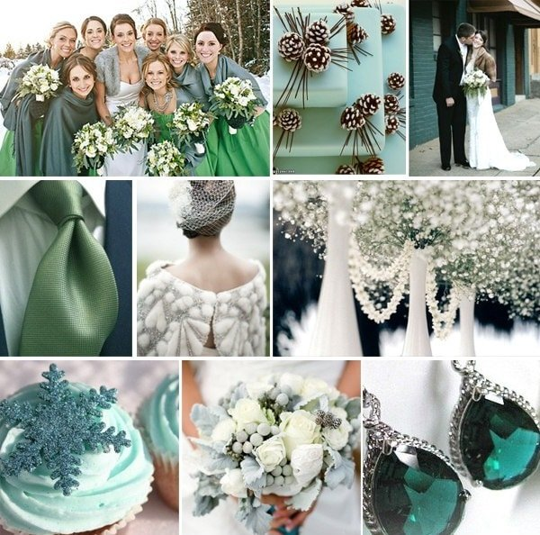 Свадьба в изумрудном цвете – изысканно и благородно!