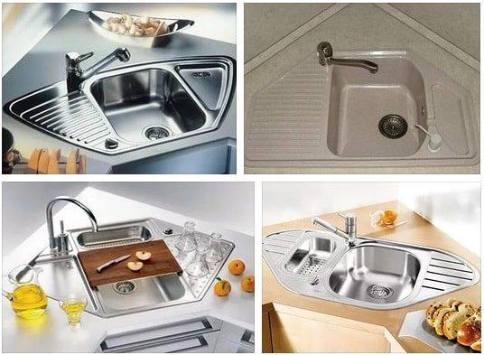 Угловая мойка для кухни – правила выбора и установка