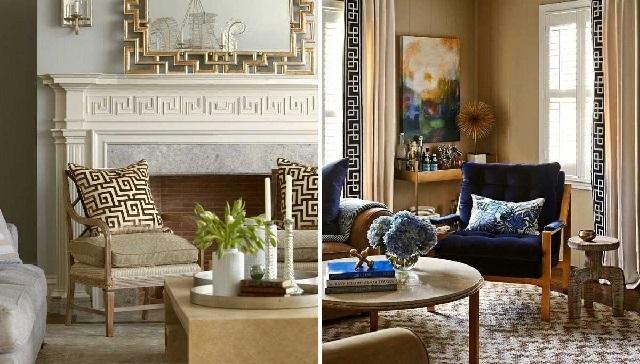 Греческий стиль в дизайне интерьера.