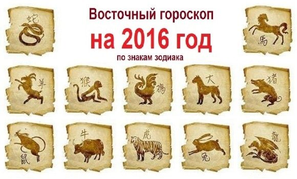 Гороскоп на 2016 год по году рождения для всех