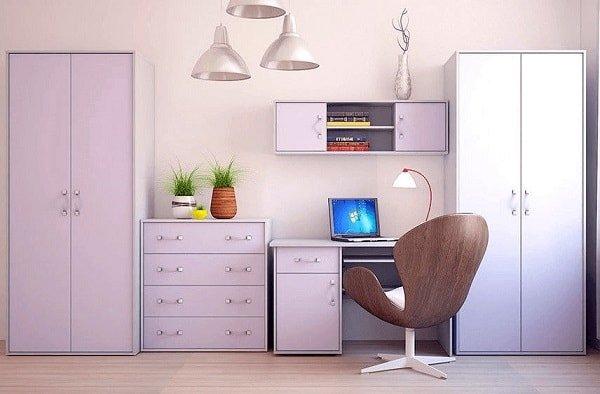 Ламинированная ДСП для мебели